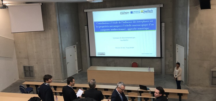 PhD thesis defense of Lina RIANO