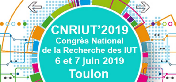 National Congress of Research of IUT - CNRIUT'2019