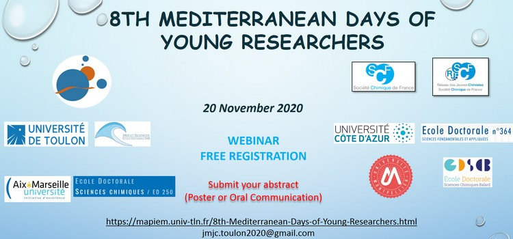 8th Mediterranean Days of Young Researchers
